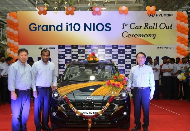 Chiếc Hyundai Grand i10 2019 đầu tiên xuất xưởng tại Ấn Độ