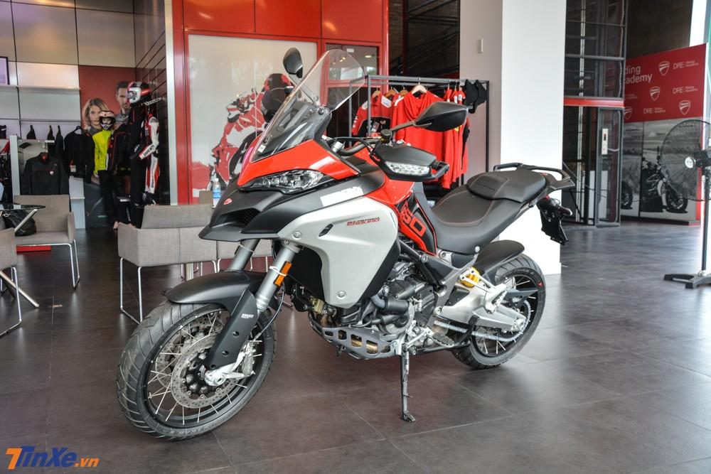 Đánh giá nhanh Ducati Multistrada 1260 Enduro 2019 đầu tiên về Việt Nam