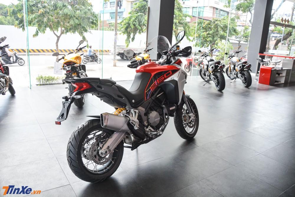 Khách hàng cũng có thể chọn màu sơn vàng cát cho Ducati Multistrada 1260 Enduro 2019 nhưng số tiền phải bỏ ra là 845 triệu đồng