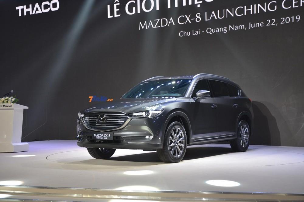 Mazda CX-8 2019 mới đây đã bị cắt bỏ phiên bản Deluxe tiêu chuẩn