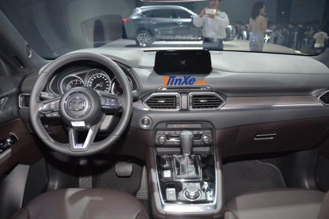 Nội thất của Mazda CX-8