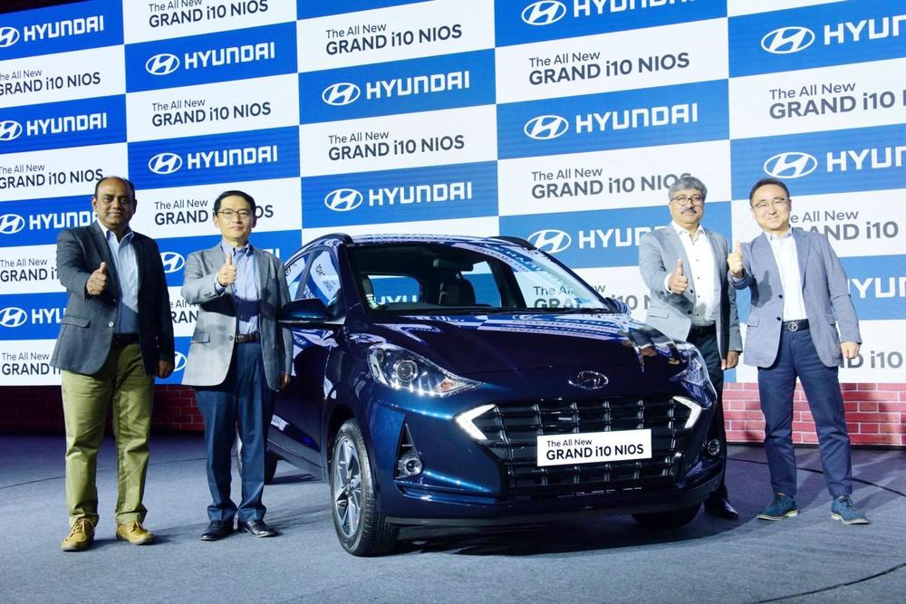 Hyundai Grand i10 Nios 2019 ra mắt tại Ấn Độ