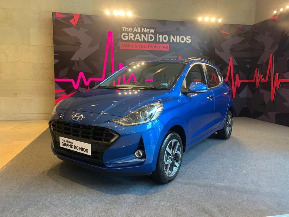 Hyundai Grand i10 Nios 2019 được trang bị động cơ tiết kiệm nhiên liệu