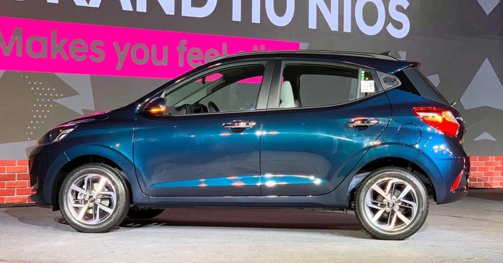 Hyundai Grand i10 Nios 2019 có kích thước lớn hơn thế hệ cũ