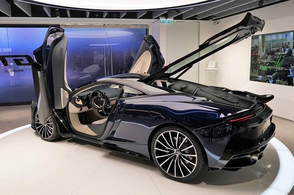 McLaren GT nhắm đến phân khúc của Aston Martin DB11 và Bentley Continental GT 2019