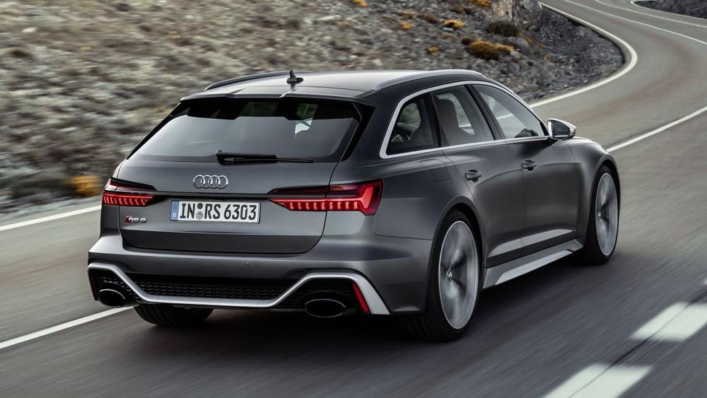 Audi RS6 Avant mang ngoại hình thể thao