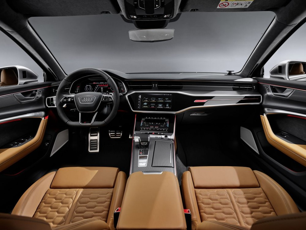 Audi RS6 Avant được trang bị bảng đồng hồ thực tế ảo RS