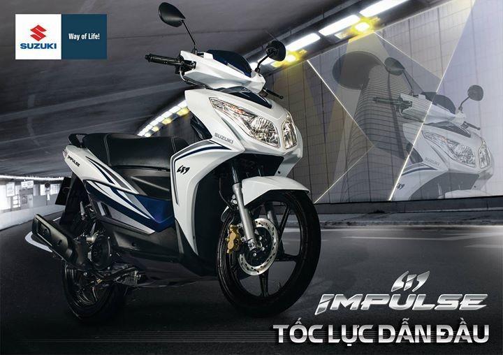 Suzuki Impulse 125 - mạnh mẽ và tiện dụng