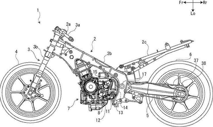 Thiết kế khung xe và động cơ của Suzuki Hayabusa thế hệ mới