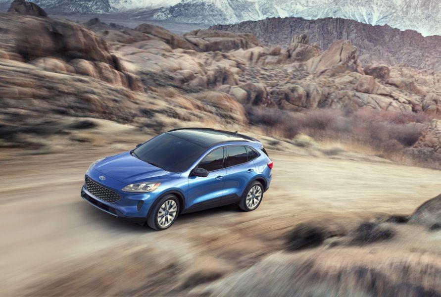 Thế hệ thứ 4 của Ford Escape mới được ra mắt thị trường Mỹ hồi tháng 4 đầu năm nay