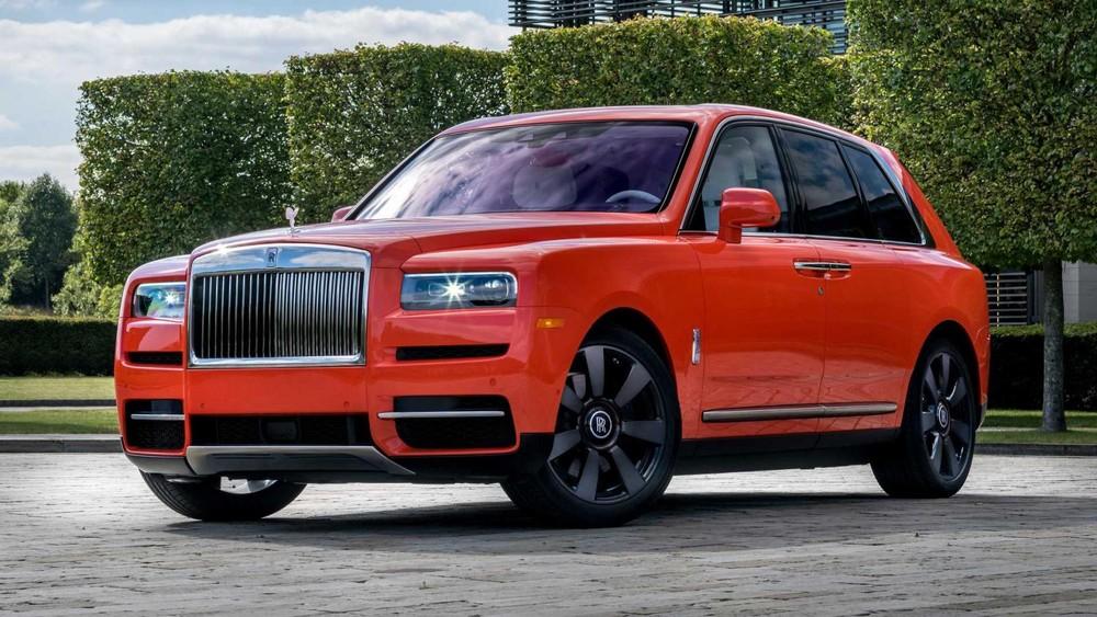 Chiếc Rolls-Royce Cullinan mới của ông Fux