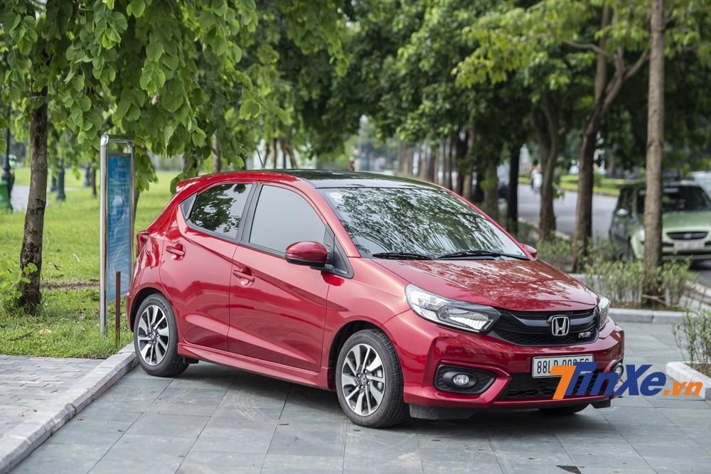 Honda Brio là một mẫu xe hatchback hạng A hướng tới những khách hàng ưa thích cảm giác lái.