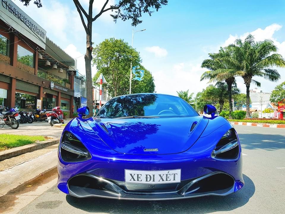 McLaren 720S màu tím của doanh nhân Vũng Tàu lần đầu xuất hiện trên đường phố