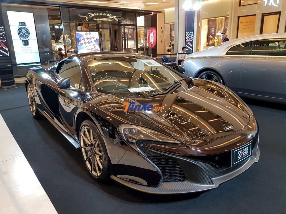 Hiện tại giới mê xe bắt gặp McLaren 650S Spider phiên bản MSO nhiều hơn so với McLaren 650S Coupe MSO