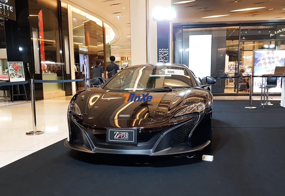Chỉ có 25 chiếc McLaren 650S Spider MSO được sản xuất trên thế giới
