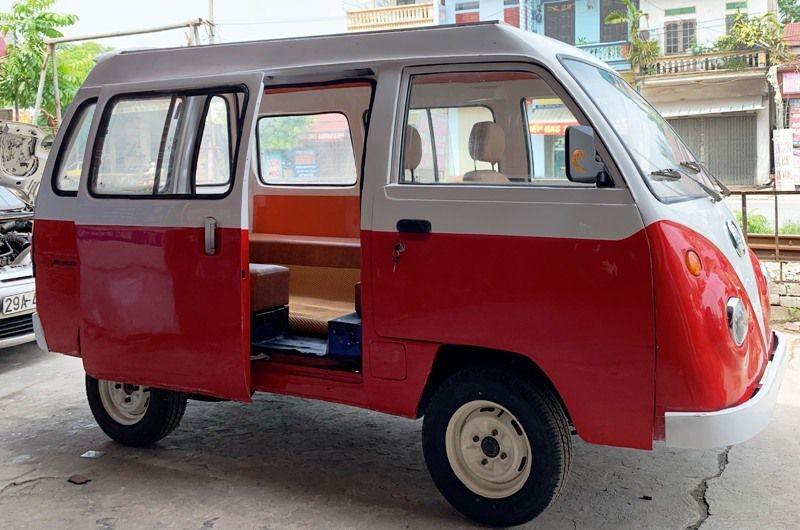 Chiếc xe thứ 2 của em Ngô Việt Cường được thiết kế lớn hơn, rộng hơn, mạnh mẽ hơn.