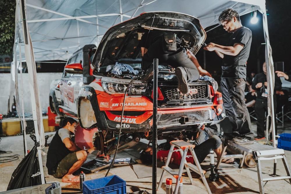 Để có thể tham gia AXCR 2019, những chiếc Mitsubishi Triton của Racing AKA phải được nâng cấp để đáp ứng đúng theo tiêu chuẩn của FIA