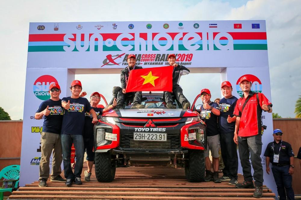 Lần đầu tiên tham gia sân chơi quốc tế, Racing AKA đã gặt hái được thành tích không hề tệ