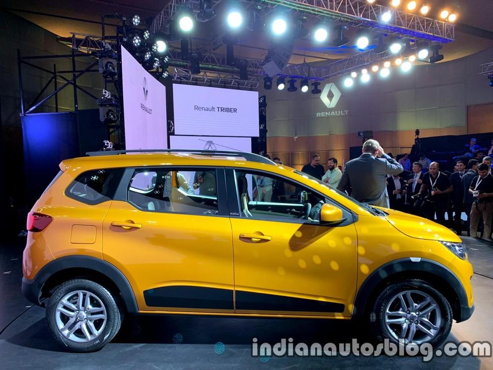 Renault Triber 2019 có chiều dài chưa đến 4 m