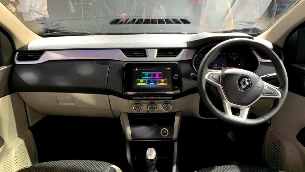 Renault Triber 2019 được trang bị khá ổn về mặt tiện nghi