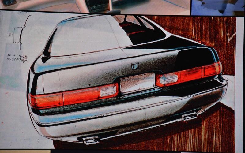 Bản phác thảo thiết kế đầu tiên của Lexus
