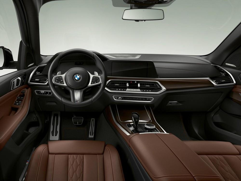Nội thất bên trong BMW X5 xDrive45e iPerformance 2020