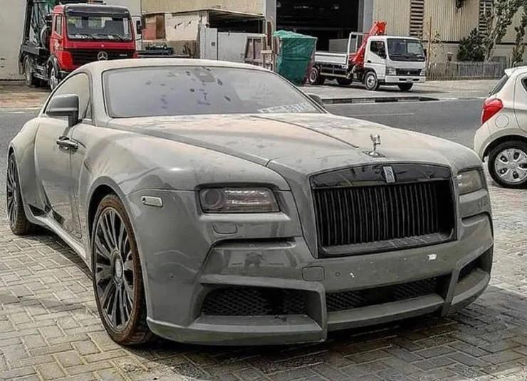 Đây là Rolls Royce Wraith mang gói độ Novitec