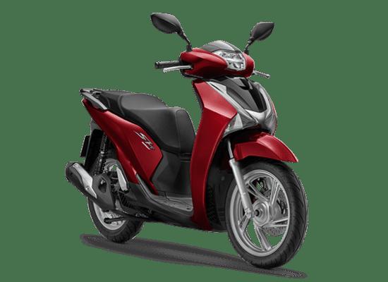 Honda SH 125i màu đỏ (phanh ABS): 75.990.999