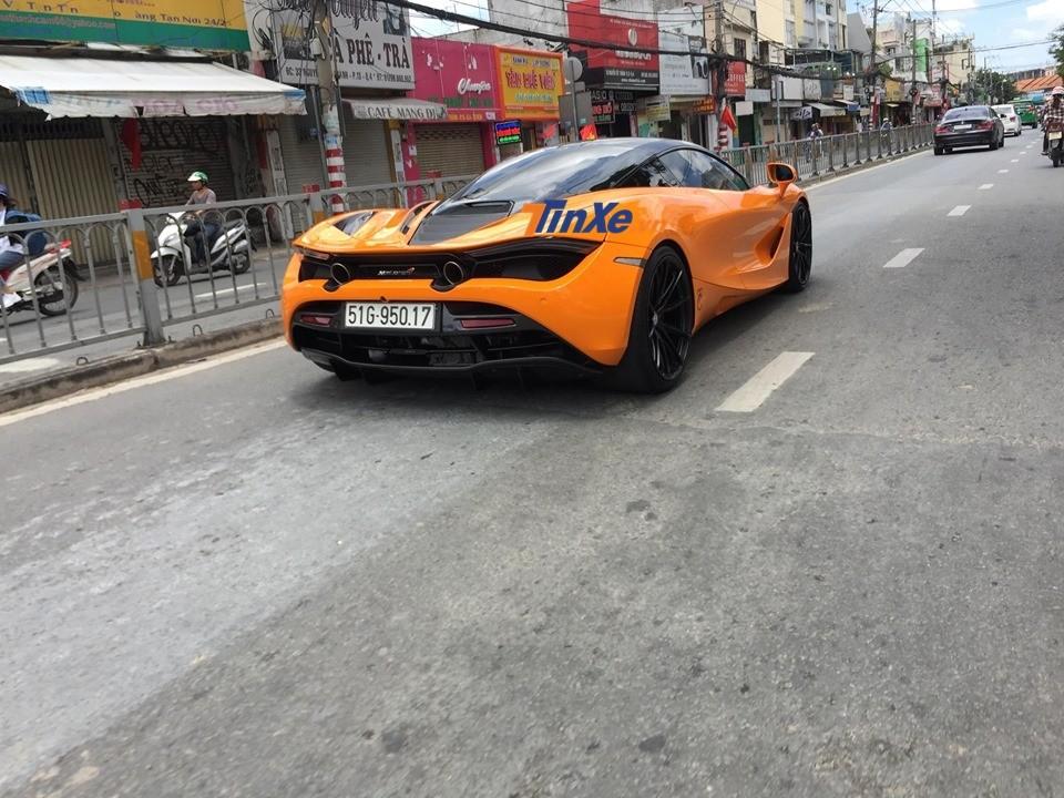 Siêu xe của Cường Đô-la là chiếc McLaren 720S đầu tiên ở Việt Nam độ mâm