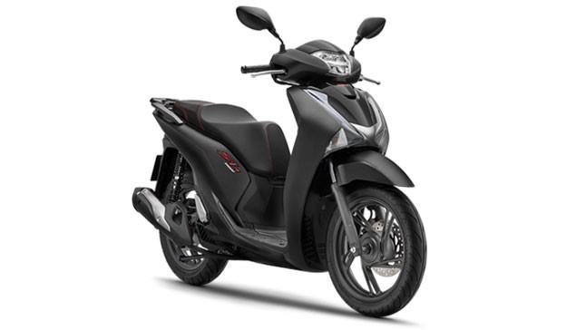 Giá xe Honda SH 150i đen mờ:91.490.000 VNĐ