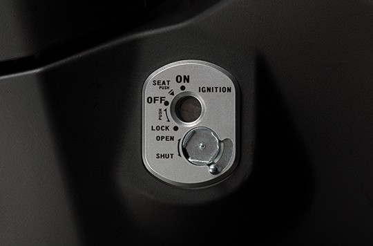 4 in 1 magnetic lock on the new Honda Wave RSX FI