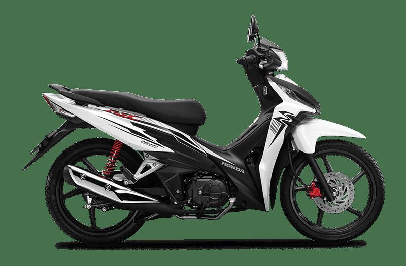 Honda Wave RSX Trắng đen
