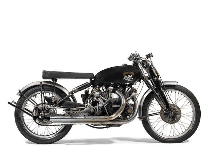 Chiếc Vincent Black Lightning 1951 có mức đấu giá cao nhất thế giới hiện nay