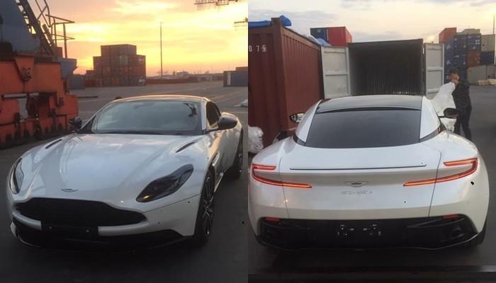 Nhà giàu Việt tiếp tục khui công Aston Martin DB11, đây đã là chiếc thứ 6 nhưng vẫn mang màu sơn độc