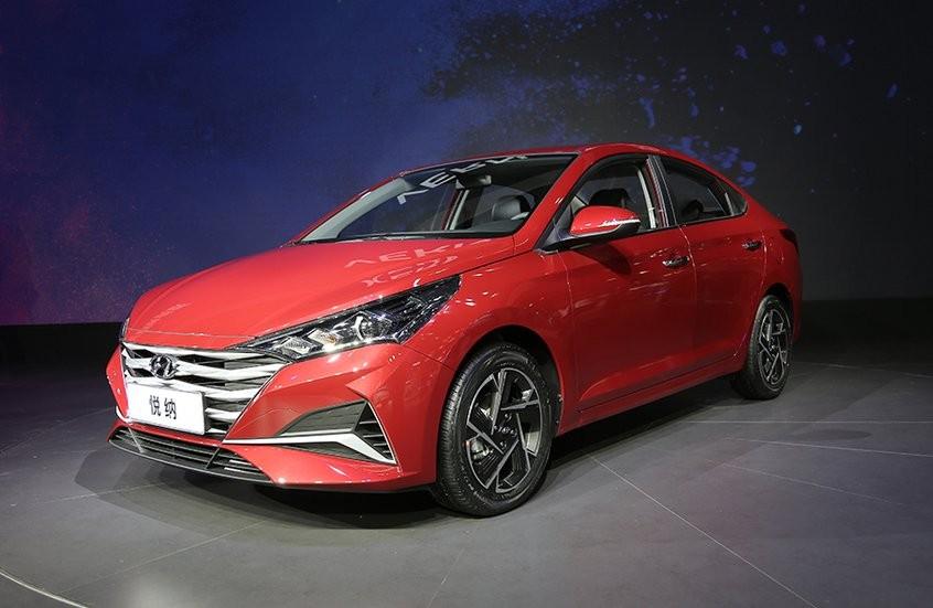 Hyundai Accent 2020 ra mắt Trung Quốc