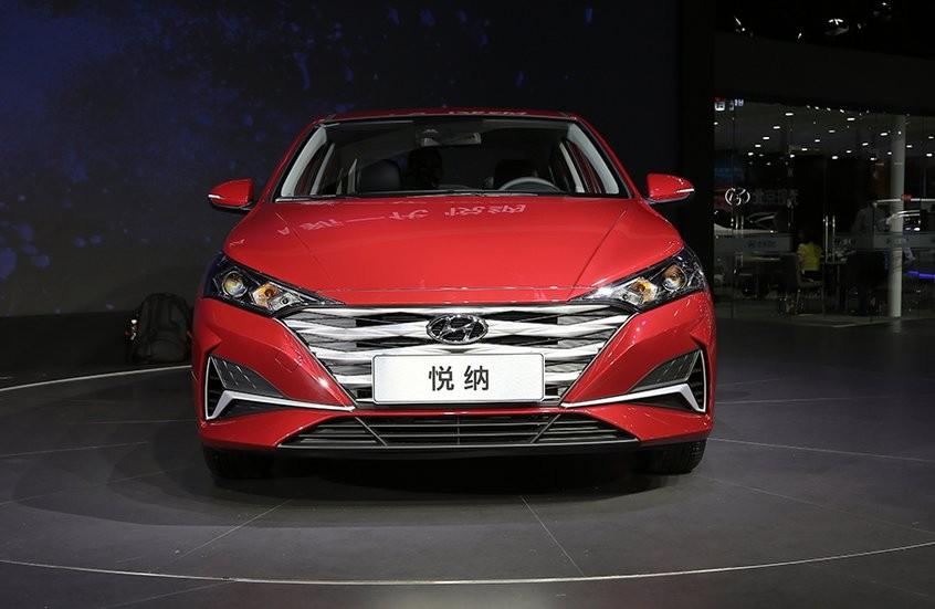 Cận cảnh thiết kế đầu xe của Hyundai Accent 2020 dành cho Trung Quốc
