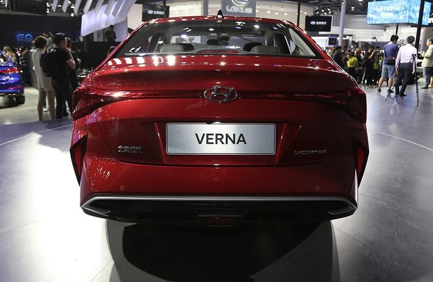 Hyundai Accent 2020 tại Trung Quốc có cụm đèn hậu nối liền mới