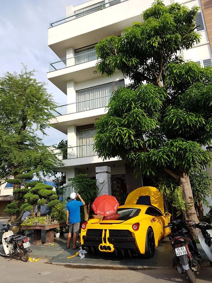 Căn biệt thự này của doanh nhân Hải Phòng là địa điểm rất quen thuộc của giới mê xe trong năm 2019