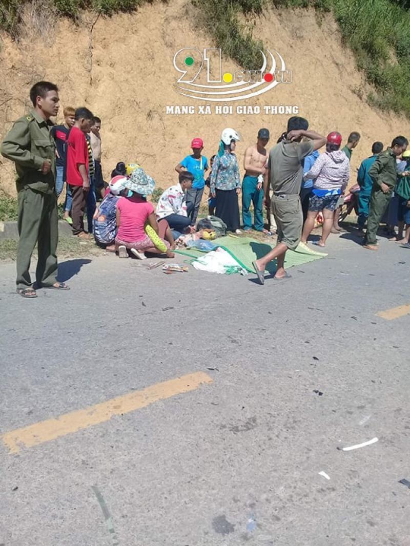 Vụ tai nạn khiến nam thanh niên đi xe máy tử vong tại chỗ