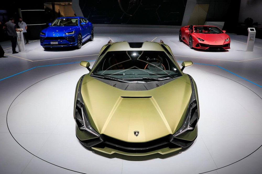 Lamborghini Sián ra đời từ Aventador