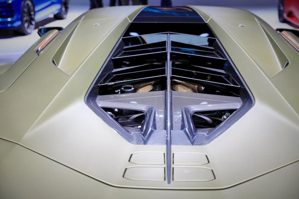 Lamborghini Sián dùng siêu tụ điện thay cho pin lithium-ion
