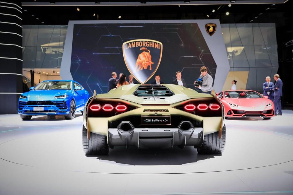 Lamborghini Sián có công suất tổng cộng 808 mã lực