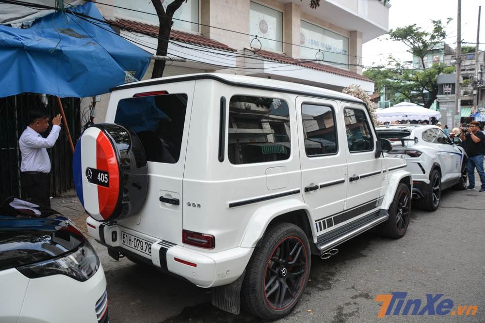 chiếc SUV hạng sang Mercedes-AMG G63 Edition 1 của Minh Nhựa