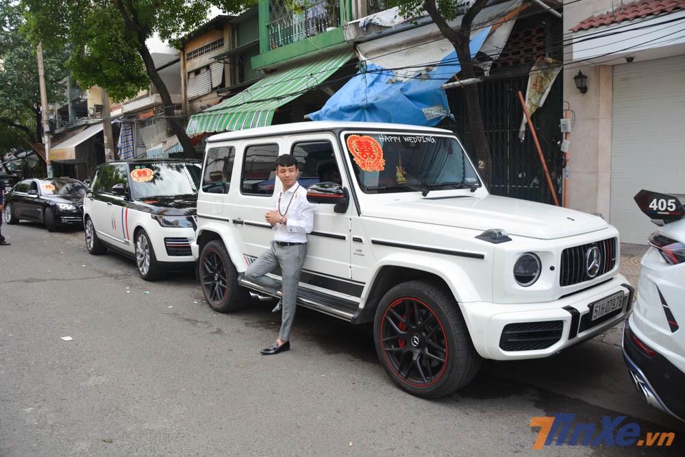 Minh Nhựa cũng chính là người đầu tiên tại Việt Nam sở hữu tam mã SUV như Lamborghini Urus, Mercedes-AMG G63 Edition 1 và Range Rover Autobiography LWB 2018.