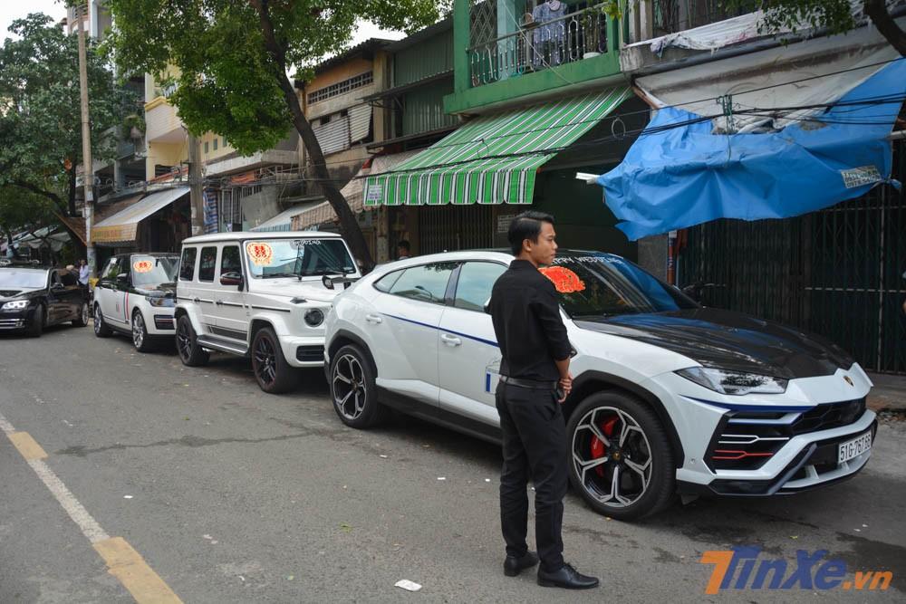 bộ ba SUV quyền lực bao gồm Mercedes-AMG G63 Edition 1, Lamborghini Urus và Range Rover Autobiography LWB 2018 của minh nhựa