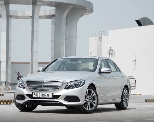 Mercedes-Benz C250 Exclusive Bạc Diamond