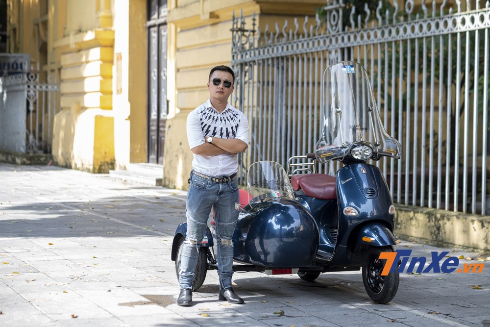 Anh Hải Nguyễn - doanh nhân 8x rất đam mê chơi xe.
