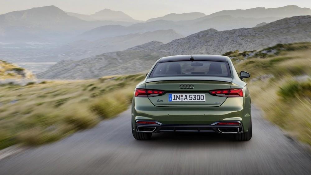 Đuôi xe Audi A5 2020