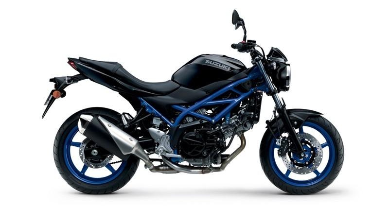 Phiên bản xanh đentrên Suzuki SV650