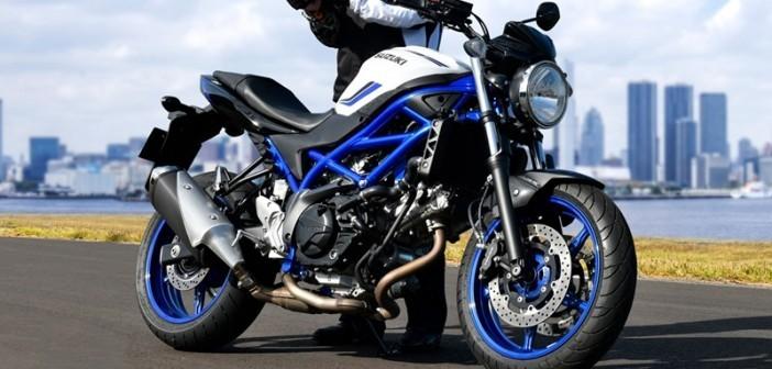 Suzuki SV650 sẽ được nâng cấp bộ màu mới cho phiên bản 2020